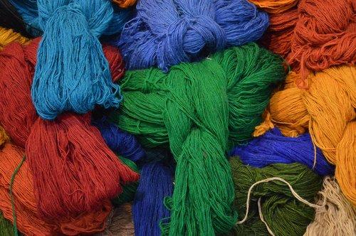 thread  wool  handmade