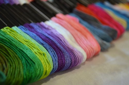 thread  color  needlework
