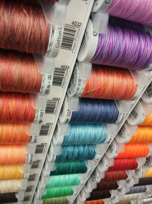 threads colours sew