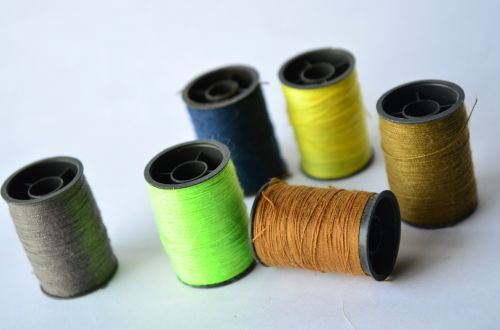 threads spools sewing