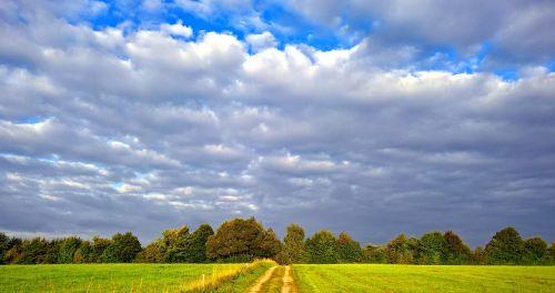 threatening rain clouds mood