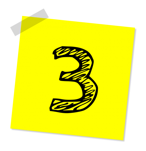 three 3 number