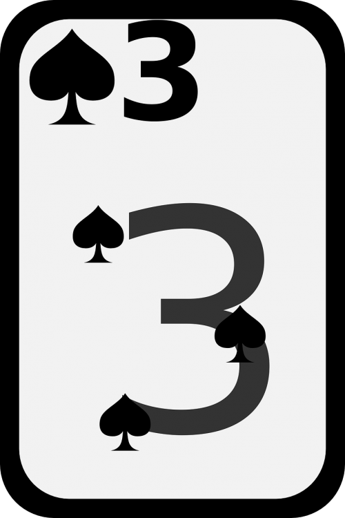 three spades game