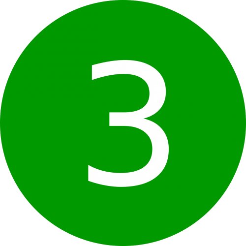 three number 3
