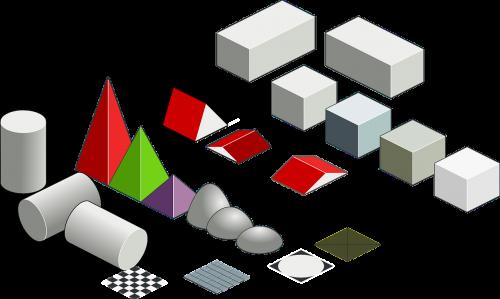 three dimensional shapes geometric shapes rectangular prism