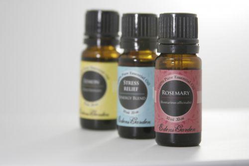 Three Essential Oil