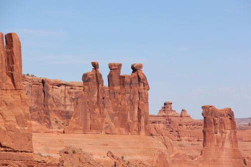 three kings arches national park monument