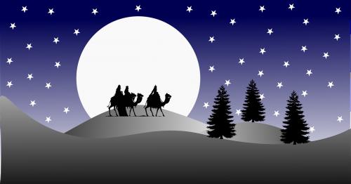 three kings desert christmas
