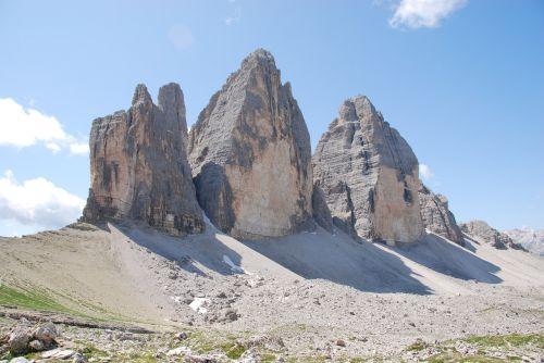 three peaks of lavaredo mountain trentino