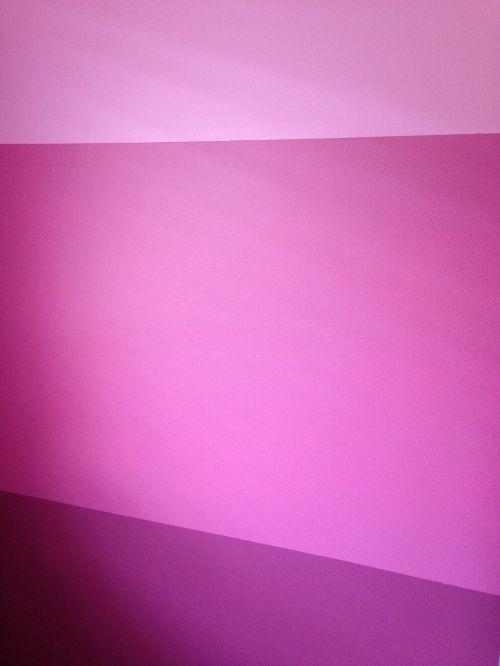 three pinks pink wall girl's bedroom