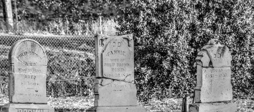 Three Tombstones