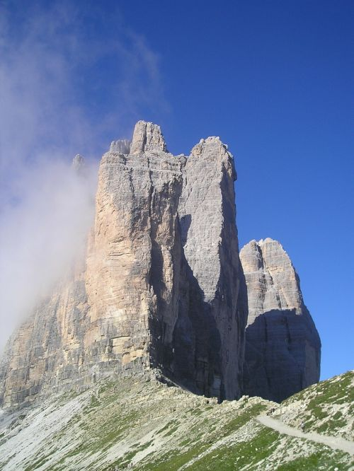 three zinnen lavaredo north wall