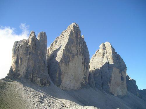 three zinnen lavaredo north wall