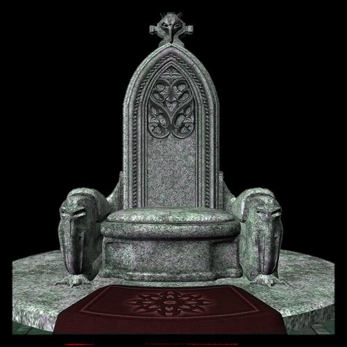 throne  stone  fantasy