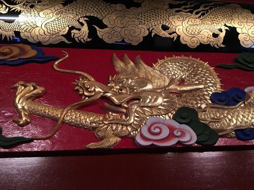sosto apdaila,Okinawa drakonas,drakonas,siono drakonas