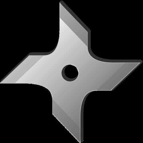 throwing star shuriken ninja star