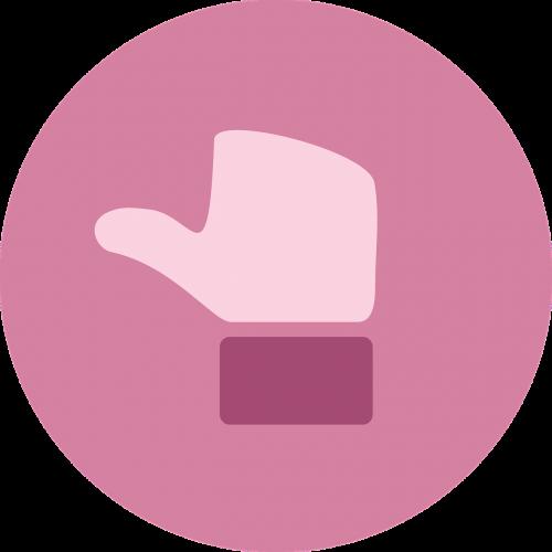 thumb thumbs neutral feedback