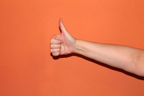 thumb hand great
