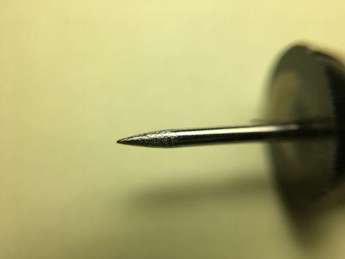 Thumb Tack At Magnification