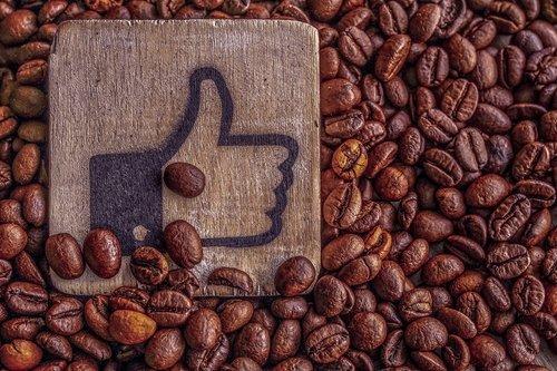 thumbs up  coffee  coffee beans