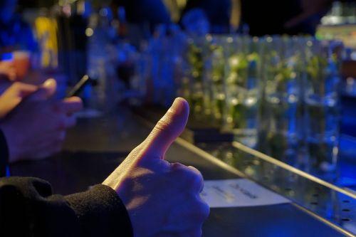 thumbs up ok hand