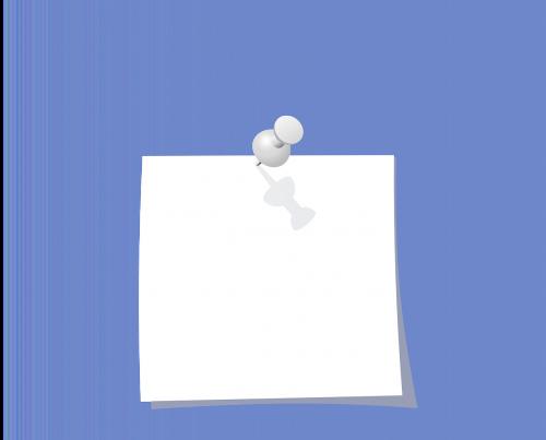 thumbtack pin memo