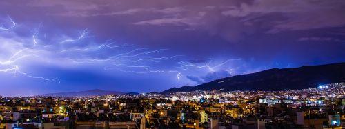 thunder lighting lightning