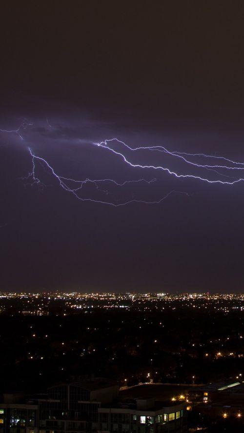 thunder thunderstorm lightning