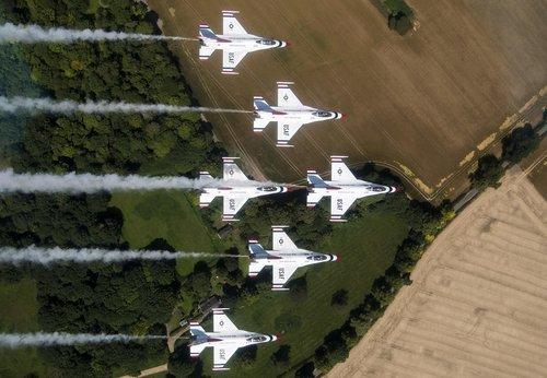 thunderbirds  air show  military