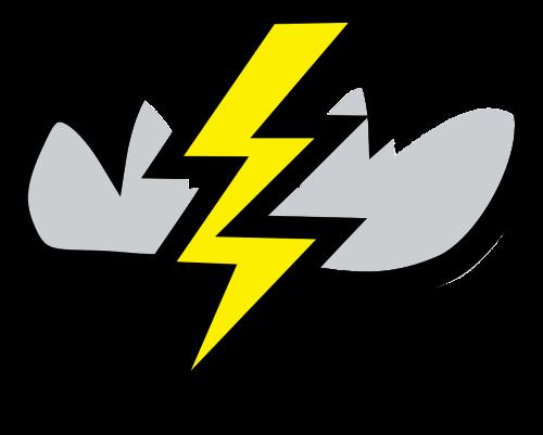 thunderbolt lightning cloud