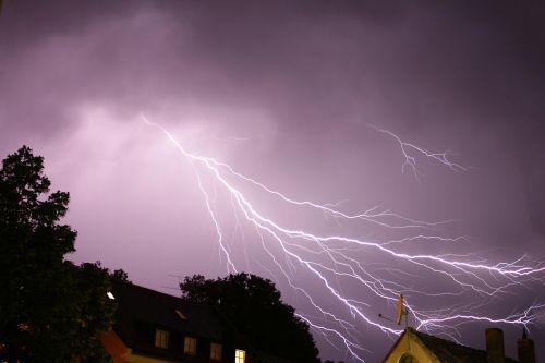 thunderstorm night erding