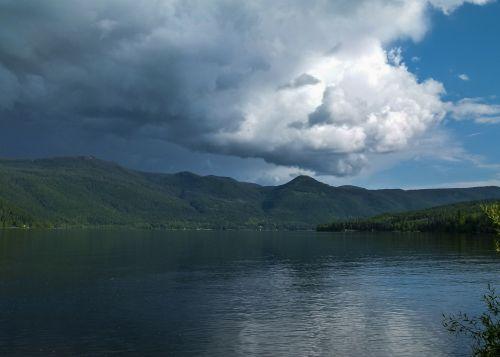 thunderstorm weather canim lake