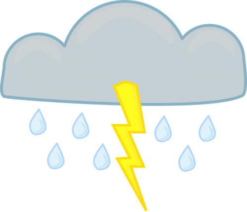 thunderstorm lightning cloud