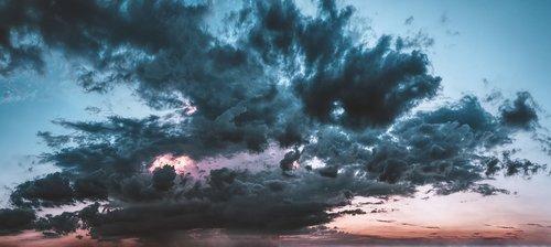 thunderstorm  cloud front  storm