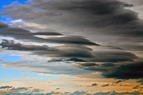 thunderstorm  clouds  sky
