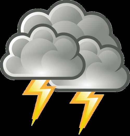 thunderstorm lightning thunder