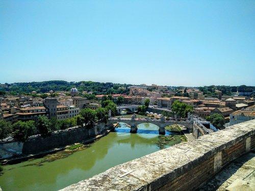tiber  rome  landscape