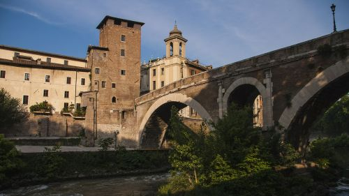 tiber rome bridges