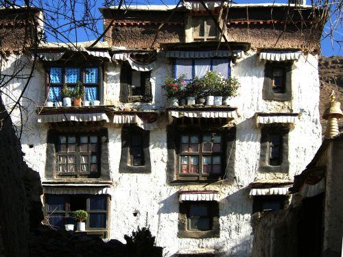 tibet kum bum chörten monastery