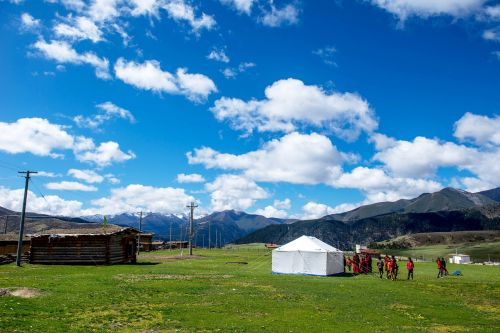 tibet the scenery photography