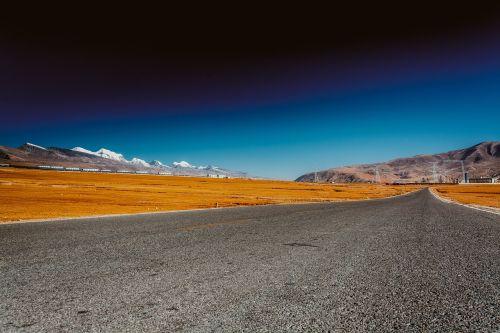 tibet highway lalu wetland