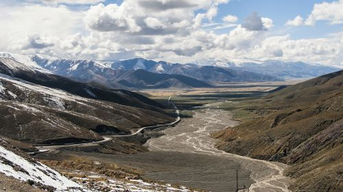 tibet plateau valley