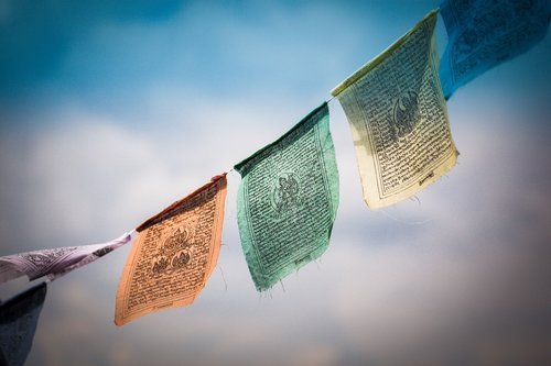 tibet  prayer flags  tibetan prayer flags