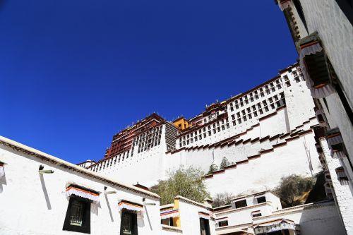 tibet lhasa the potala palace