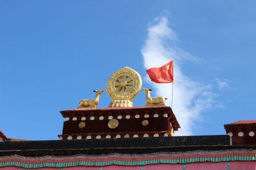 tibet jokhang temple china