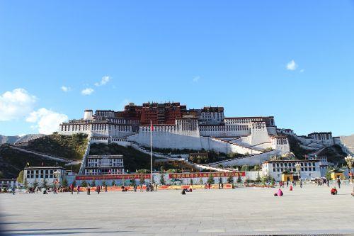 tibet the potala palace china