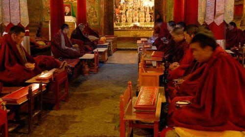 tibet monastery monks