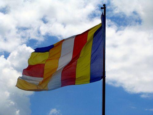 tibetan flag monastery mundgod