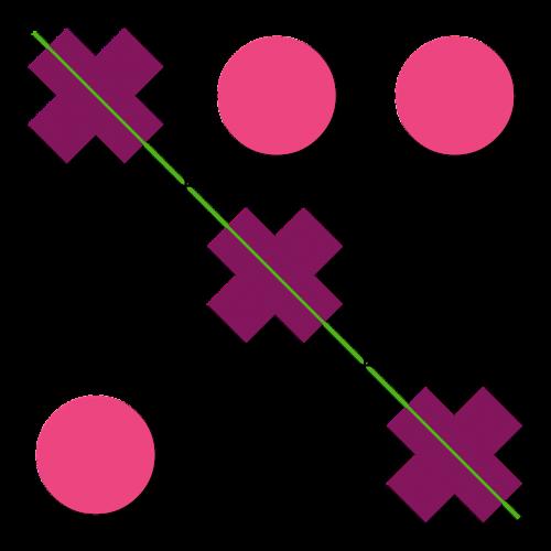 tic-tac-toe games color pink