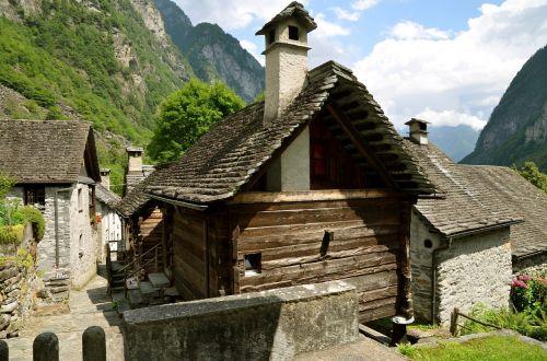 ticino foroglio village
